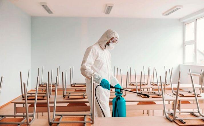 Foto 1 - 34 municipios sorianos recibirán 28.000€ para gastos de limpieza generados por la epidemia en colegios