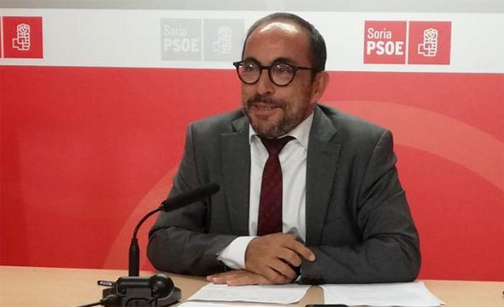 Luis Rey, cabeza visible de los socialistas de la Diputación.