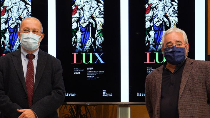 Igea y Jiménez, en la presentación de la muestra para este 2021. /Jta.