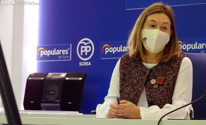 María José Heredia, senadora soriana por el PP. /SN