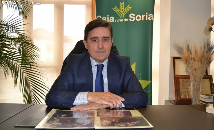 Carlos Martínez Izquierdo, presidente de Caja Rural de Soria