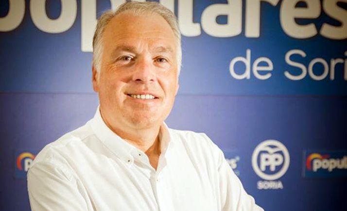 Muñoz Remacha, portavoz del PP en el Consistorio de la ciudad.