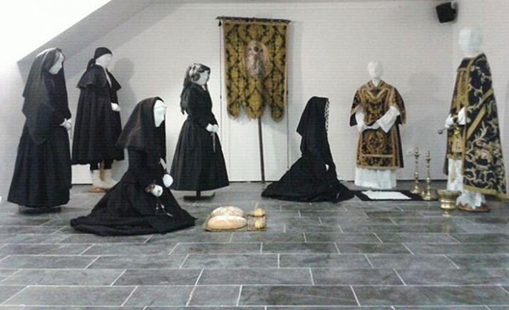 Una escena del Museo del Traje de Morón de Almazán.