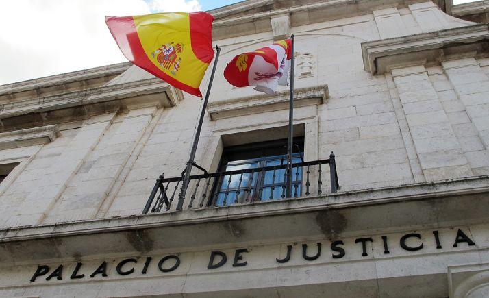 Palacio de justicia de Valladolid, sede de la Audiencia provincial.