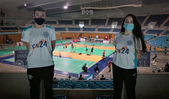 Ana Peñaranda y Javier Barrios en Santander. /CBS-CS24