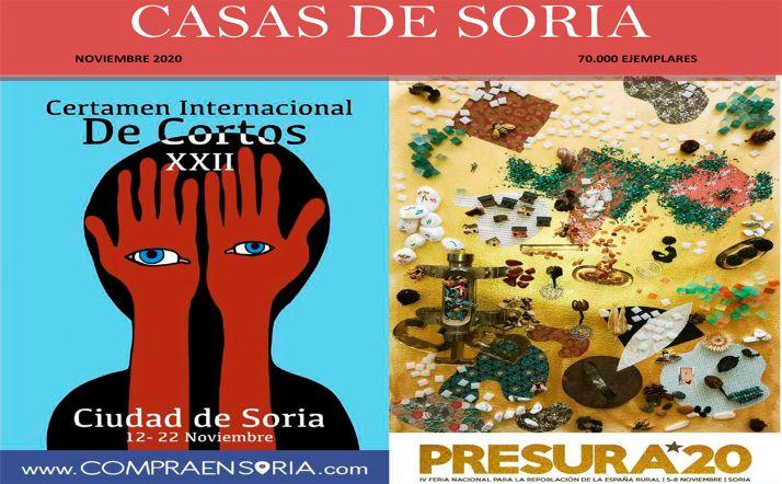 Foto 1 - Las Casas de Soria lanzan su revista de noviembre
