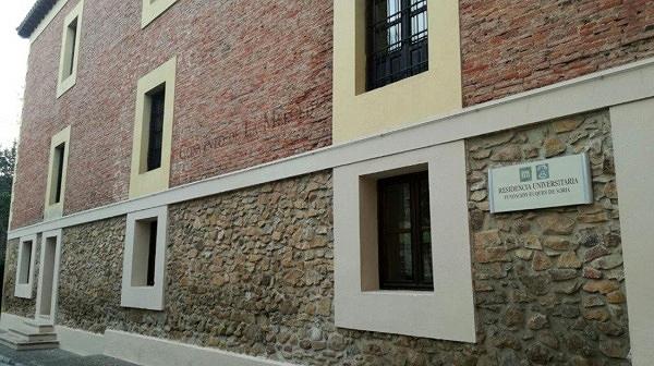 Foto 1 - La residencia universitaria Duques de Soria, en cuarentena