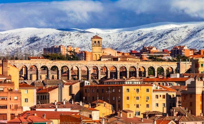 Imagen de archivo de la ciudad de Segovia.