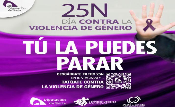 Foto 1 - 'Tú la puedes parar', lema de la Diputación para el 25-N