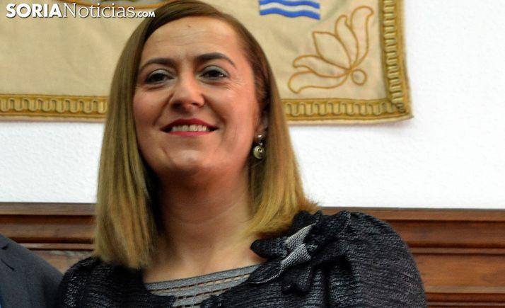 La procuradora socialista soriana Virgina Barcones. /SN