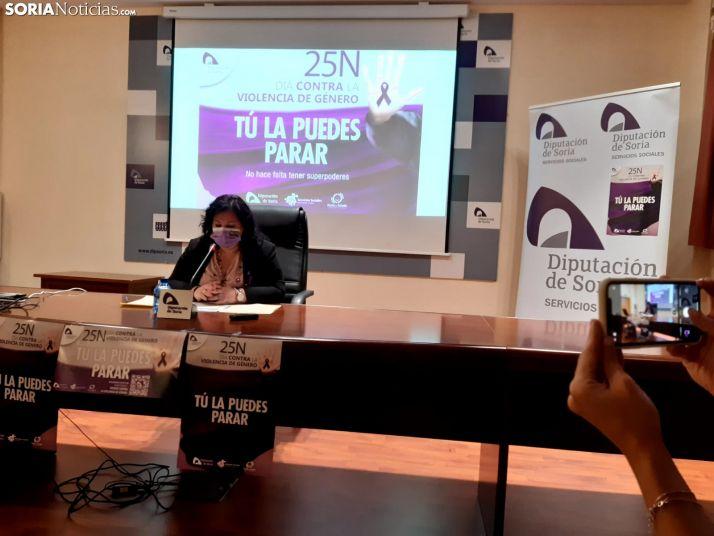 Eva Muñoz, diputada de Servicios Sociales.