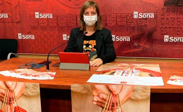 Yolanda Santos, este lunes en rueda informativa para presentar la nueva campaña. /Ayto.