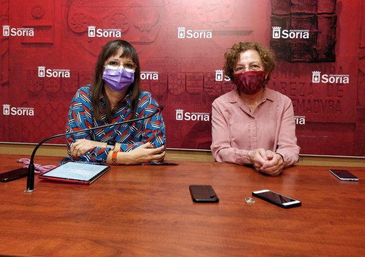 """Foto 1 - Gloria Gonzalo llama a una """"ocupación simbólica del Collado"""" contra la violencia machista"""