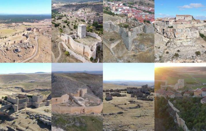 Foto 1 - Espectaculares imágenes desde el aire. ¿Cuántos de estos 14 castillos de Soria eres capaz de reconocer?