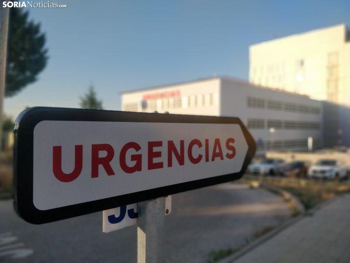 Urgencias en el Hospital de Soria.