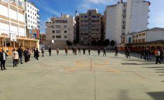 Una imagen de los distintos actos llevados a cabo en los colegios de la concertada en capital y provincia.