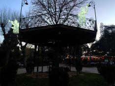 Foto 3 - La Alameda de Cervantes se tiñe de tradición navideña