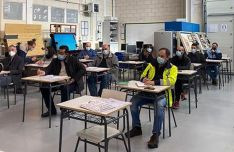 Participantes en el proceso selectivo de este curso. /CFPF