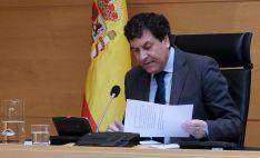 El consejero de Economía y Hacienda, Carlos Fernández Carriedo. /Jta.