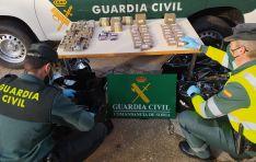 Detenido con 40 kilos de marihuana en Arcos