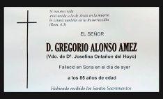 El funeral por Goyo Alonso, a las diez este domingo