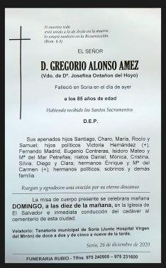 Foto 2 - El funeral por Goyo Alonso, a las diez este domingo