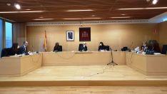 Foto 2 - El TSJCyL urge al Ministerio de Justicia a que ponga vigilantes de seguridad en todos los Juzgados Único