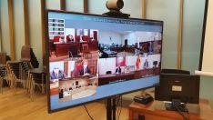 El TSJCyL urge al Ministerio de Justicia a que ponga vigilantes de seguridad en todos los Juzgados Únic
