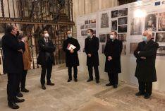 Finaliza la restauración del retablo del Cristo del Milagro de la Catedral de El Burgo de Osma