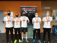 Numerosas medallas del bádminton soriano en el Campeonato de España Senior