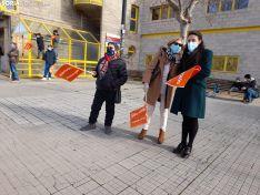 Foto 5 - Galería de imágenes: unas 300 personas reclaman libertad educativa y rechazan la Ley Celaá