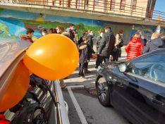 Foto 3 - Galería de imágenes: unas 300 personas reclaman libertad educativa y rechazan la Ley Celaá