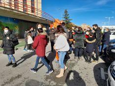 Foto 2 - Galería de imágenes: unas 300 personas reclaman libertad educativa y rechazan la Ley Celaá