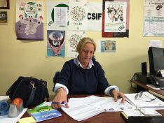 Foto 3 - Entrevista a Reyes Martínez: el adiós de la 'decana' sindical soriana