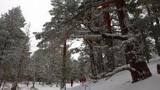 Urbión nevado y congelado. Fotos: Agustín sandoval.