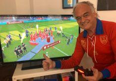 El eurodiputado González Pons gana con el Numancia la Champions en el Fifa