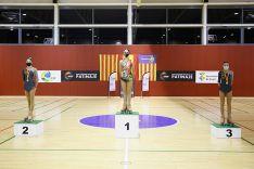 Foto 2 - Ángela Diez, campeona de España 2020 de patinaje artístico en cadete
