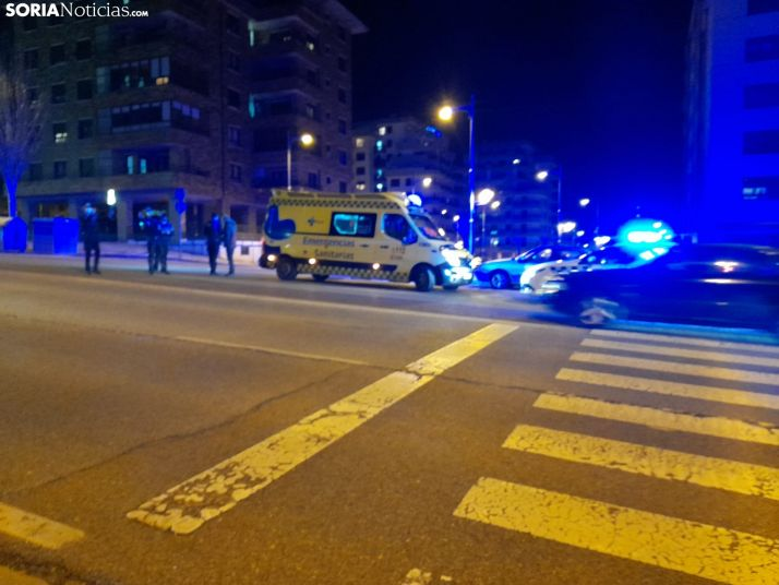 Foto 2 - Una mujer, atropellada en Eduardo Saavedra