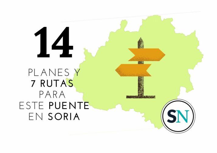 Planes en la provincia de Soria para el puente.