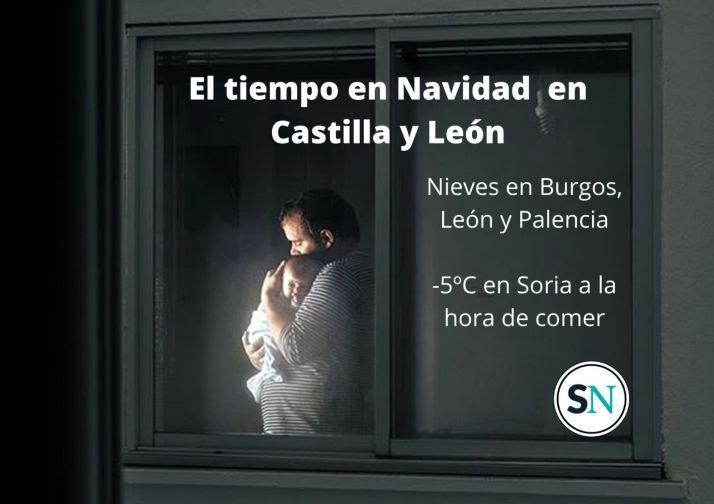Foto 1 - ¿Ventanas abiertas? Esta es la previsión del tiempo para Nochebuena y Navidad en Castilla y León