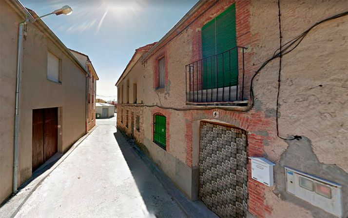 Foto 1 - Dos heridos en el derrumbe de un inmueble en Aldea Real (Segovia)