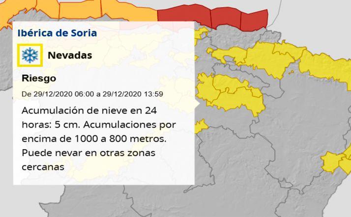 La Delegación del Gobierno activa esta madrugada una nueva fase de alerta en la Ibérica