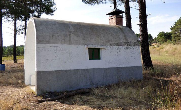 Uno de los casetones de la zona de Tardelcuende. /ACGN