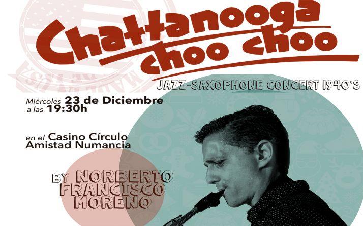 Foto 1 - El miércoles, concierto de saxofón con música de los años 40 en el Casino