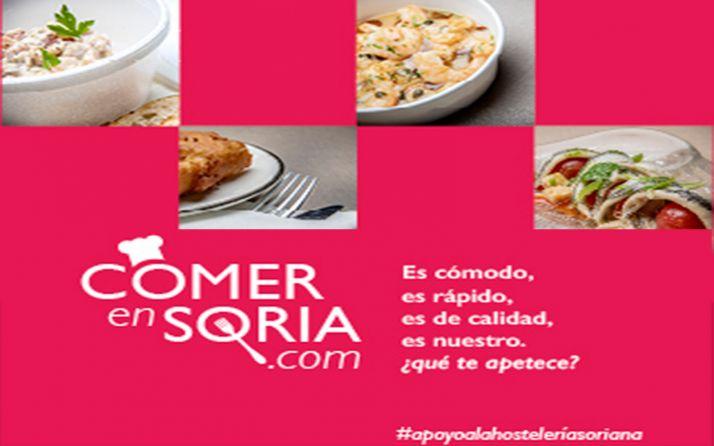 Foto 1 - La web Comer en Soria recibe más de 6.300 visitas en sus primeros días