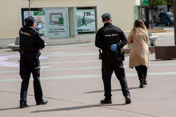 Foto 1 - Soria, la provincia de Castilla y León con mayor tasa de denuncias Covid del segundo Estado de Alarma