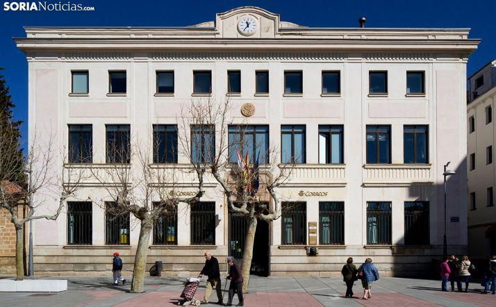 El edificio en una imagen de archivo. /SN