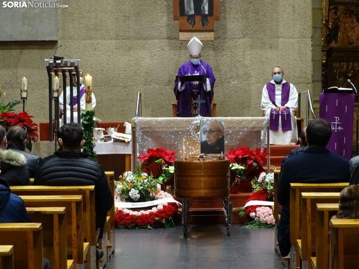 Una imagen de El Salvador durante el funeral. /SN