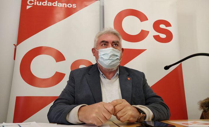 José Ignacio Delgado en su comparecencia de prensa este martes en Soria. /SN