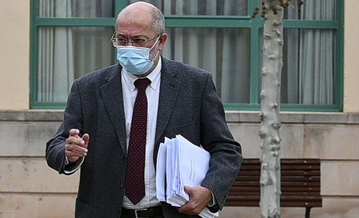Francisco Igea, hoy, tras el Consejo de Gobierno de la Junta. /Jta.